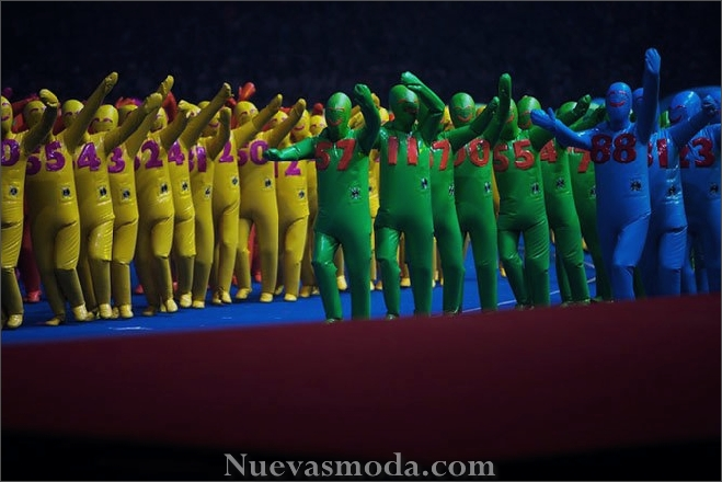 The opening ceremony of the Paralympic Games. Beijing, China.