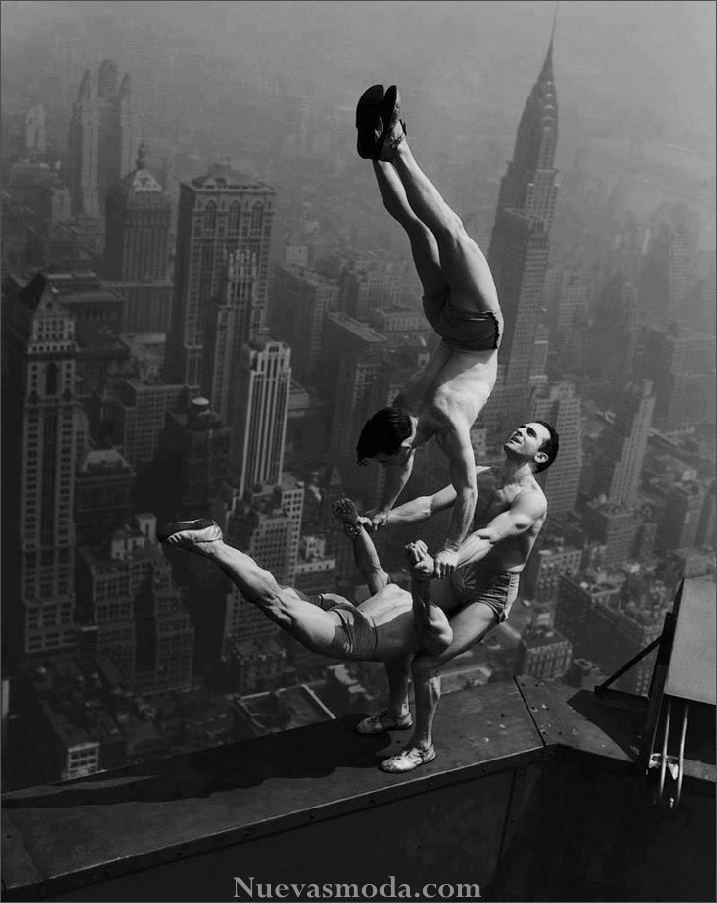 The Jackson Brothers EMPIRE STATE BUILDING August 21, 1934