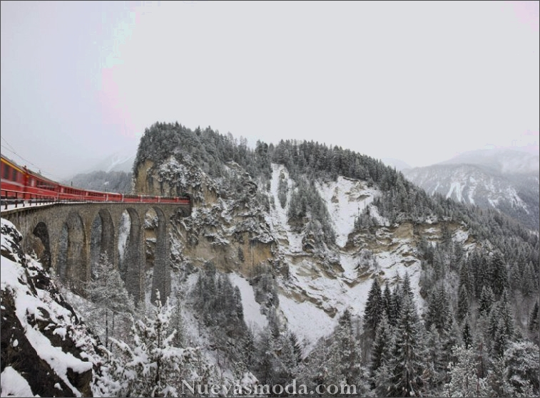 Espectacular vista de los trenes Travel (4)