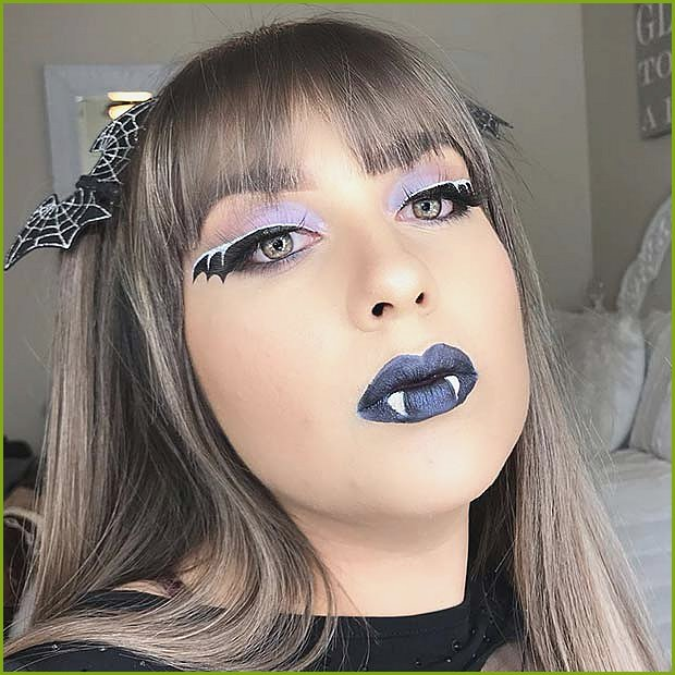 Spooky Bat Makeup