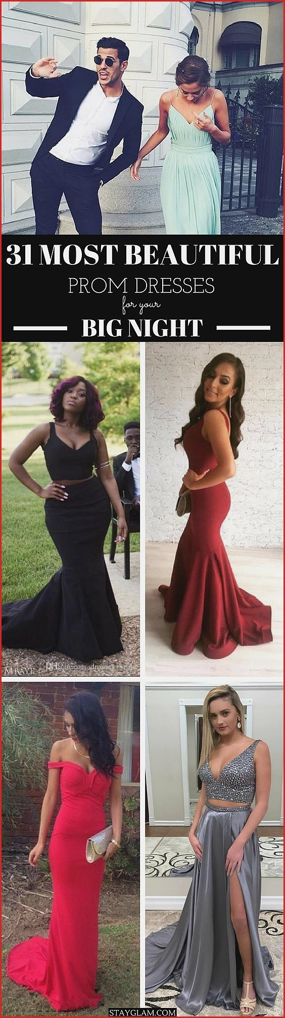 Most Beautiful Prom Dresses for Your Big Night