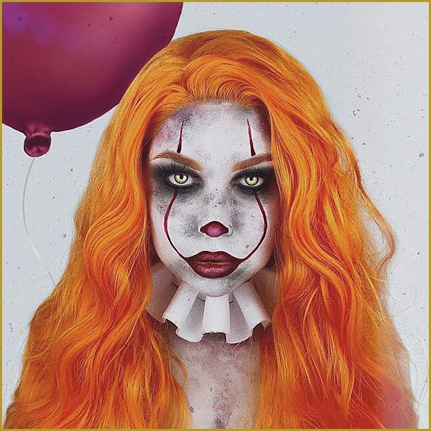 Terrifying Pennywise Makeup