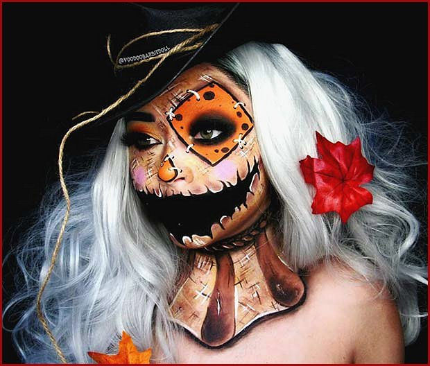 Scarecrow Illusion Makeup
