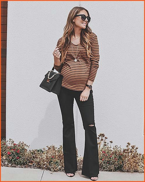 Chic Stripes and Jeans