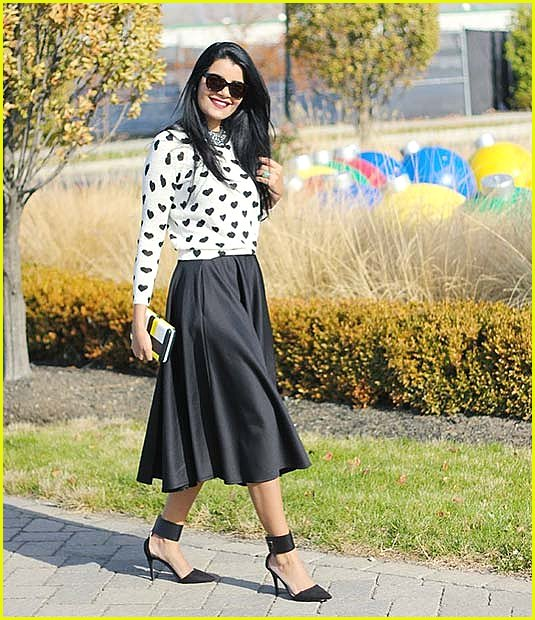Monochromatic Spring Work Outfit