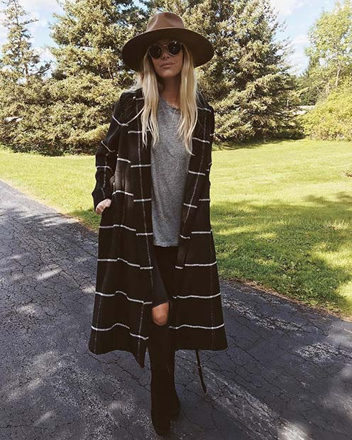 Trendy Long Coat for Cute Outfits to Copy This Winter