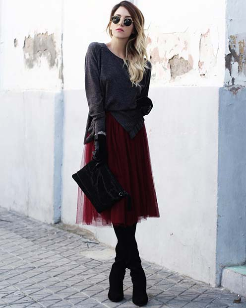 Gothic Glamour for Cute Outfits to Copy This Winter