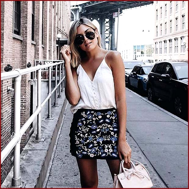 Statement Skirt for Casual Summer Outfit
