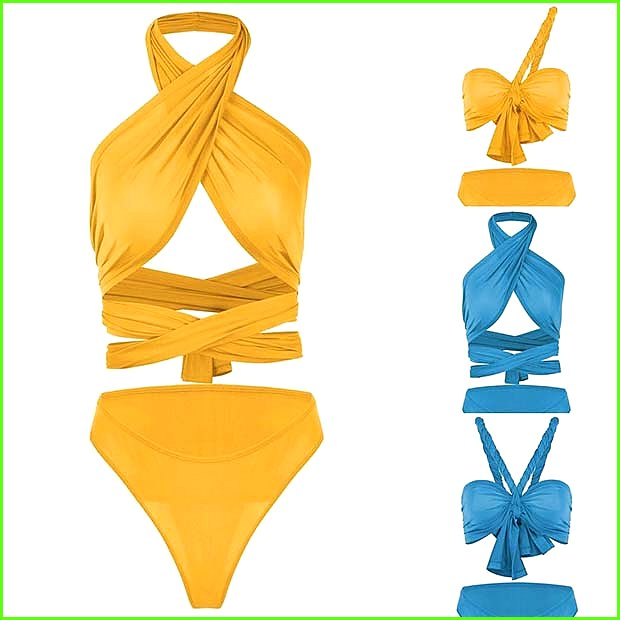 Multi Way Bathing Suit for Summer 2017