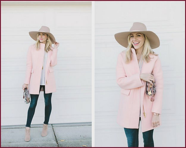 Pastel Pink Winter Outfit