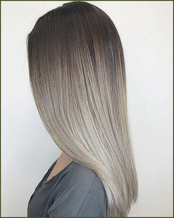 Ash Brown and Blonde Ombre