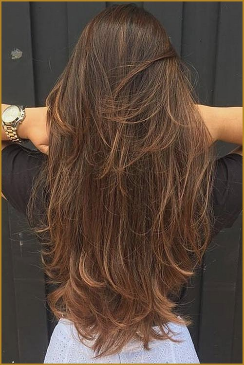 Long Feathered Hair