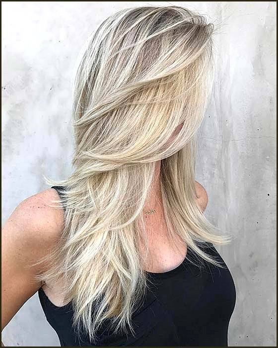 Light Blonde Hair Idea with Layers