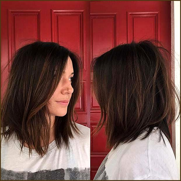 Trendy Brown Hair with Subtle Chestnut Highlights