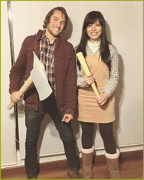 Wendy and Jack Torrance Halloween Costumes