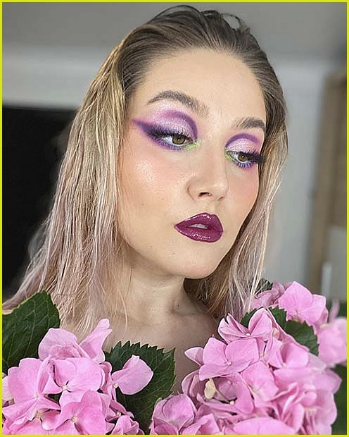 Ethereal Makeup Idea for Halloween