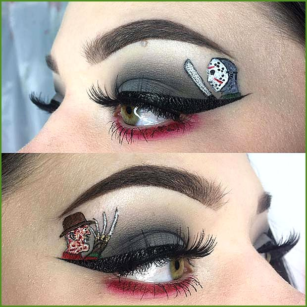 Horror Movie Inspired Eye Makeup