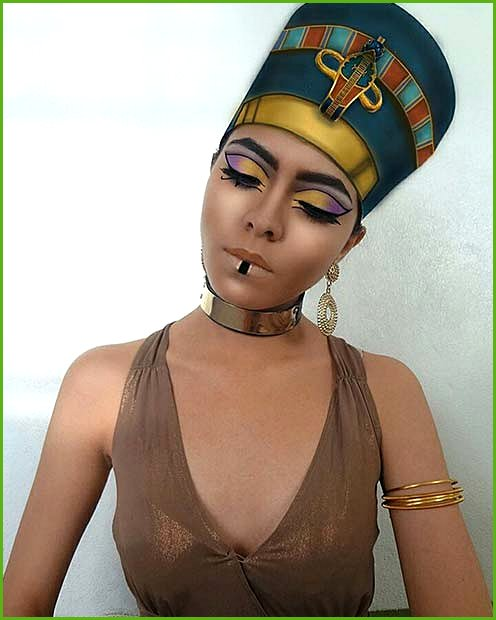 Ancient Egyptian Inspired Cleopatra Makeup