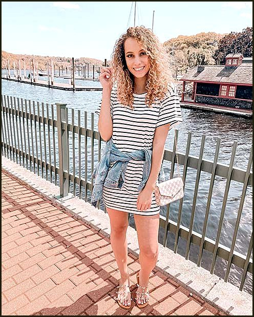 Cute and Casual T-Shirt Dress