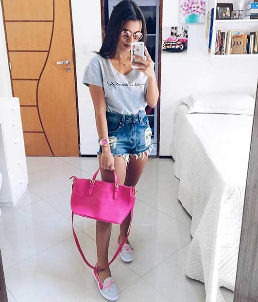 Chic Casual Outfit for Summer